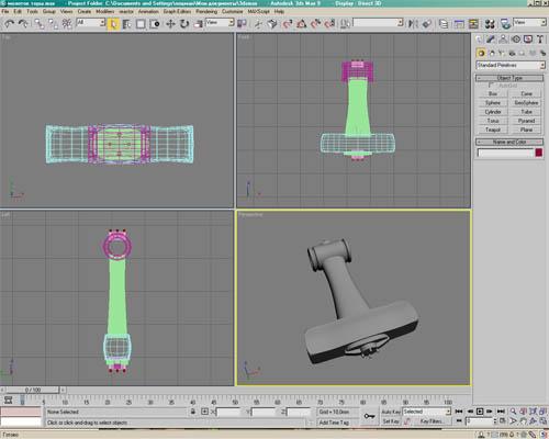 Молот Тора в 3DMax