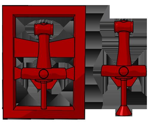 Молот Тора прототип